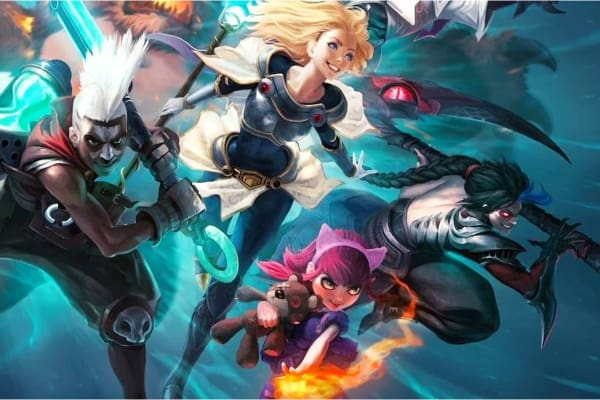 personajes de league of legends